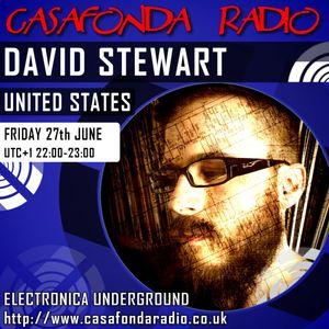 DAVID STEWART // USA // CHANNEL RECORDINGS & IELEKTRONIX SHOWCASE 27/06/2014 22:00