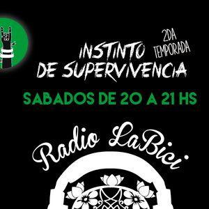 Instinto de Supervivencia 10 - 12 - 2016 en Radio LaBici