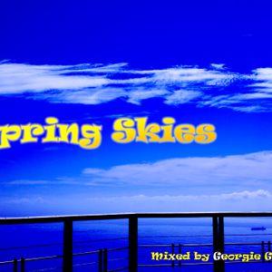 Spring Skies Mixed by Georgie Gitz