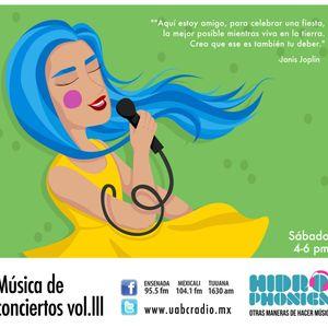 Hidrophónica - Música de Conciertos Vol. III