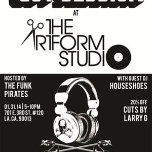 Cut Session at The Artform Studio 1.31.14 Pt. 2