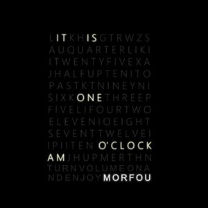 IT IS ONE O'CLOCK AM - MORFOU MIX