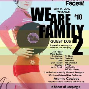 Stan Doublin - Live @ Atomic Cowboy - We are Family 2 (St. Louis, MO - 2012-07-14)