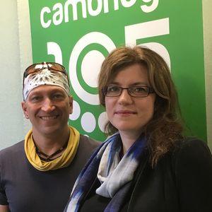 Thora Karadottir interview in 2017 on Cambridge 105 Science