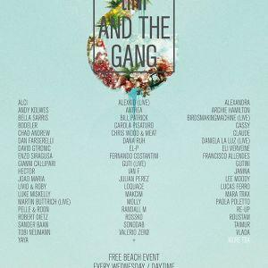 tINI @ tINI & The Gang Opening Party Ibiza (25.06.2014)