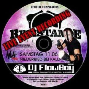 DJ FlowBoy - Live Set Resistance Openair - SWISS HARDSTYLE MIX - 2011