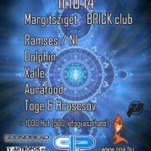 DJ Ramses Hoppa Live@Brick Klub, Budapest. Alien Heritage (14-10-2011)