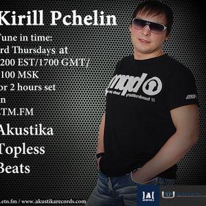 Kirill Pchelin - Akustika Topless Beats 51 on ETN.fm (Toronto)