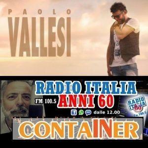 Container del 8 settembre in studio Maurizio Martinelli ospite Paolo Vallesi