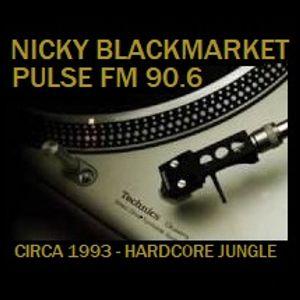 DJ Nicky Blackmarket - Pulse FM 90.6 - Circa 1993