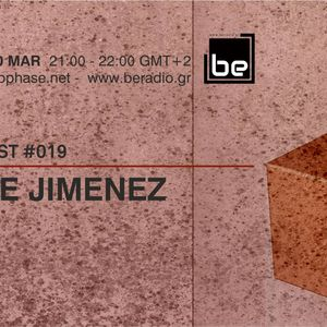 Jose Jimenez In The Mix for Radio Show DEEP PHASE / BERADIO.GR Part1