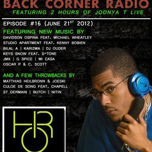 BACK CORNER RADIO: Episode #16 (June 21st 2012)