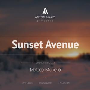 SUNSET AVENUE RADIO SHOW 003 Guest Matteo Monero [ 26.12.13 ]