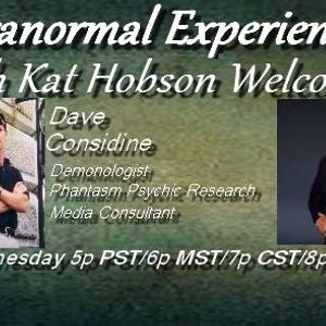 Paranormal Experienced with Kat Hobson 20160203 Dave Considine and Bill Bean