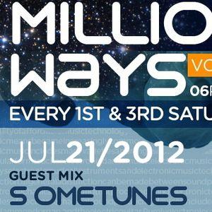 01 - S ometunes - 3 Million Ways 033 @ TM radio [ 21-jul-2012summer ]