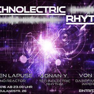 Adnan Y. - T3chNolectric_Rhythm-afterPartyMix [18.12.2016]