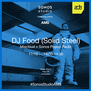 Mixcloud and Sonos present The Art of Curation: DJ Food