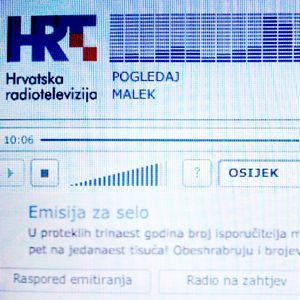 """Hrvatski radio Osijek (HR Osijek) - telefonski intervju (phoner) - MALEK """"Pogledaj"""""""