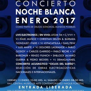 GMS/FBW: Concierto Noche Blanca 2017