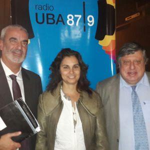 Juez Marcelo Alberto Lopez Alfonsin y el Dr. Carlos Tambussi.