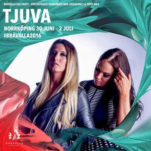 TJUVA @ Bråvalla day parties 1/7 - 2016
