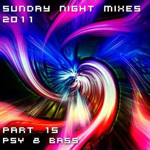 Sunday Night Mixes, 2011: Part 15 - Psy & Bass