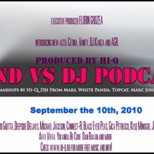 BANDvsDJ Podcast - September 2010