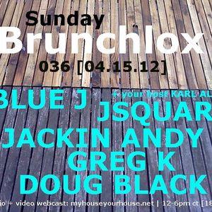 Jackin Andy Live @ Brunchlox 4.5.12