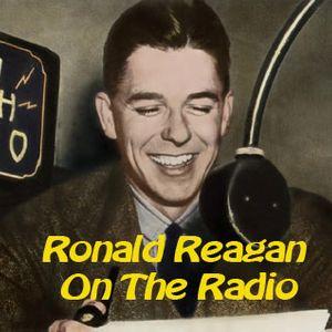 Ronald Reagan On The Air 16 Colgate News Sportsreel Appearance