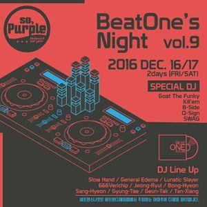 20161217 Beatone's Night - Sang Hyeon