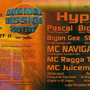DJ Hype + MC's Spyda & Navigator live @ Summer Session 2000