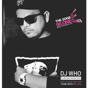 DJ Who - The Edge Radio Mix Episode 31 - May 12 2017