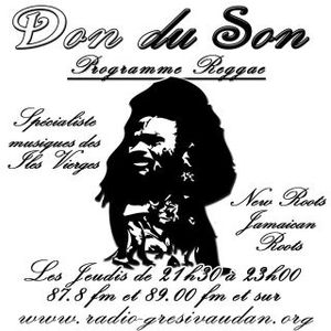Don du son Reggae Radio show Virgin Islands music
