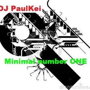 Electro Minimal number ONE