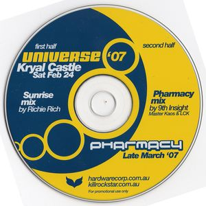 PHARMACY '07 PROMO - Pharmacy Mix by Master Kaos & LCK