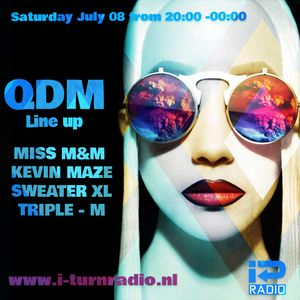 TRIPLE-M - QDM- House Is A Feeling - Part 4 / Broadcasted @ www.i-turnradio.nl 08-07-2017
