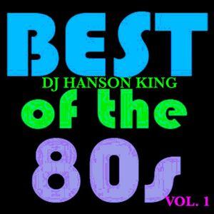DJ HANSON KING - 80'S MIXX VOL. 1