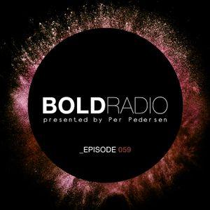 Per Pedersen presents BOLD - Episode Nº 59 (22.09.2016)