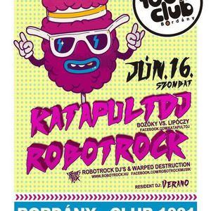 2012.06.16. RobotRock vs. KatapultDJ - Summer Love @ Club1001