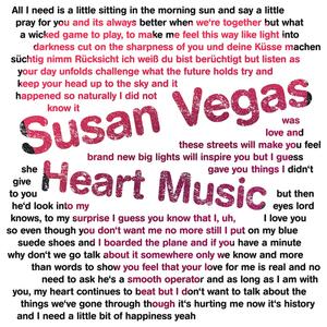 Susan Vegas Heart Music
