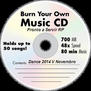 Pronto a servir RP - Dance 2014 V Novembro