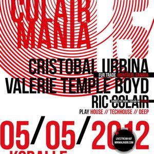 Colairmania #13: Cristobal Urbina, Valerie Temple Boyd