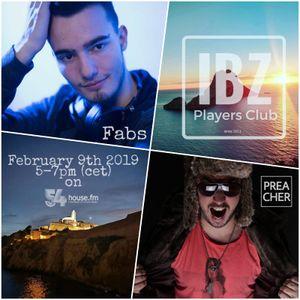 Ibiza Players Club 2 - Radioshow by DJPreacher (54house.fm)