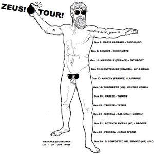 Bootleg In Zena #1 - Zeus! live at Checkmate