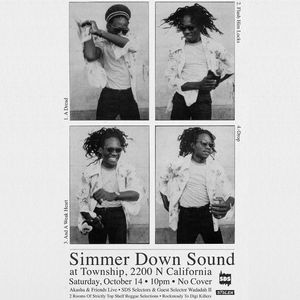 Simmer Down Sound Akasha Live ft Princess Kazayah, Ras Arcane, Wadadah II  Township Chicago 10-14-17