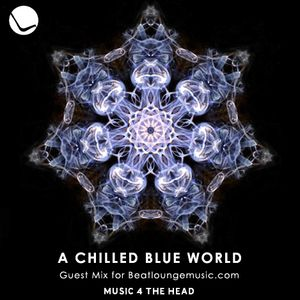 A chilled blue world