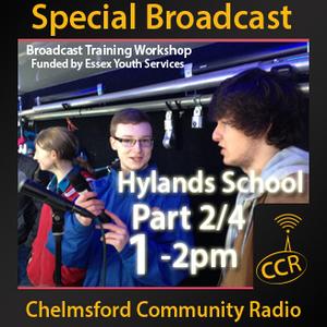 Broadcast Workshop Part 2 - @ChelmsfordCR - Hylands School - 13/02/15 - Chelmsford Community Radio