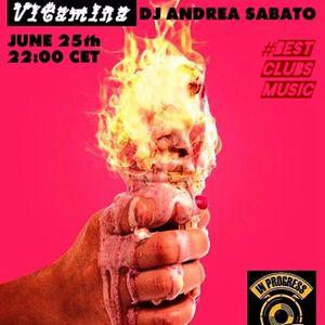 VITAMINA Dj Andrea Sabato on IN PROGRESS RADIO (Amsterdam) 25.06.17