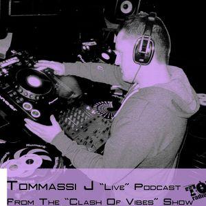 "Tommassi J ""Live"" Podcast On ""Tonik Radio"""