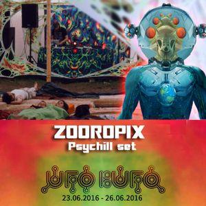 Zooropix @ Ufo Bufo - Psychill set 26.06.2016